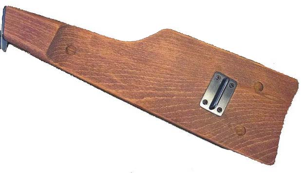 Inglis Hi power Wood shoulder board. Ref.#D3b