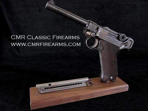 Display Stand Luger Pistol.Ref.#1D