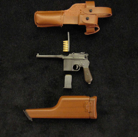 Mauser Schnellfeuer Pistol with Shoulder Stock.Ref.#L01a.r