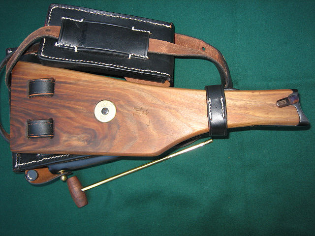 Luger Holster Navy Rig WW1 1906-1916 . Ref. #N2cr