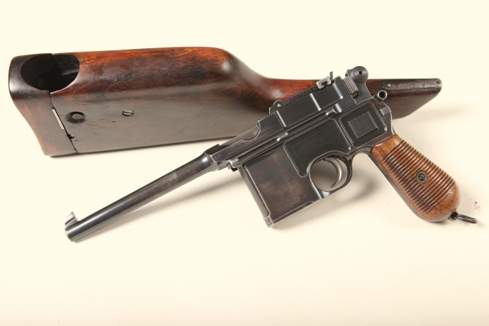 Mauser Broomhandle C96 Shoulder Stock.Ref. #D2