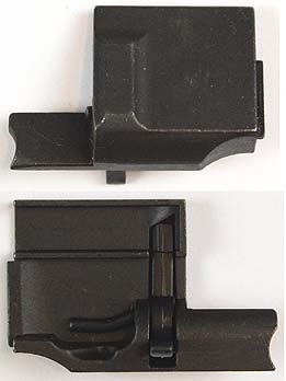 Luger Pistol P08 Sideplate Assembly. Order Ref #01ds